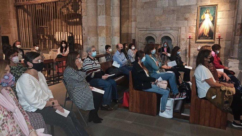 Profesores de Religión en Santiago El Burgo. Foto Diócesis de Zamora