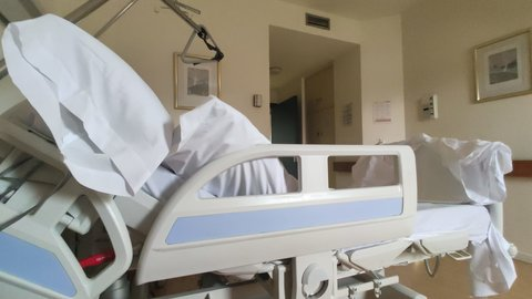 UCI del Hospital Virgen de la Concha