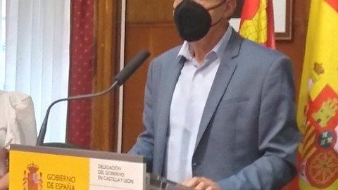 El subdelegado del Gobierno en Zamora, Ángel Blanco