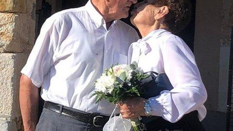 Beso de diamante en Sayago, Margarita y Jesús sorprendidos por la familia