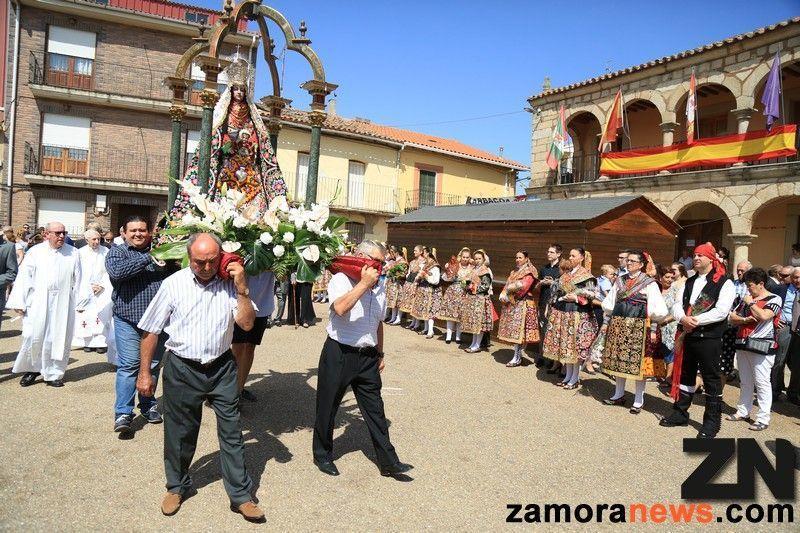 Carbajales Honra A Su Virgen De árboles Zamora News Tu Periódico Digital En Zamora