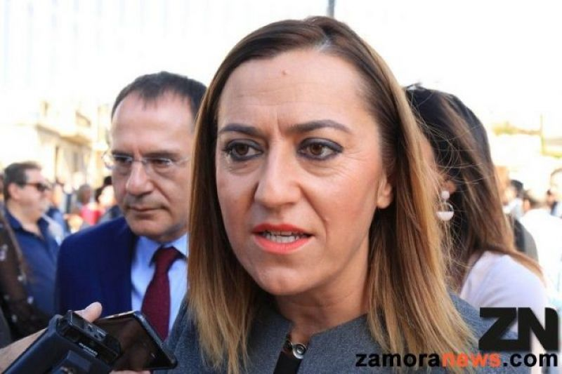 Virginia Barcones | Foto Zamora News
