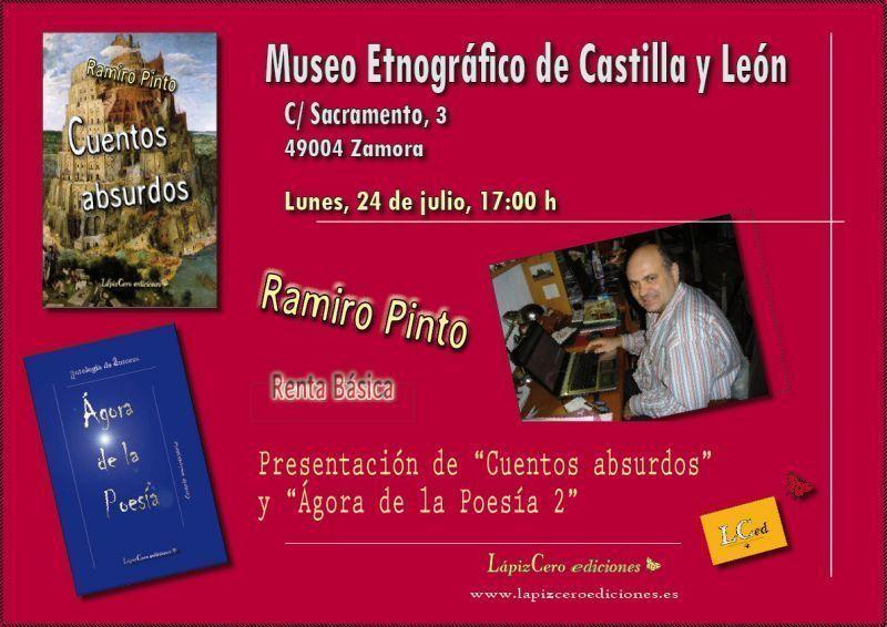 ramiro pinto presenta sus libros en el etnográfico zamora news tu