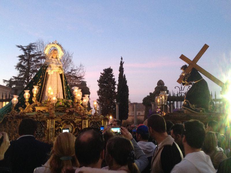 El Nazareno y la Esperanza se anticipan a los días de Pasión