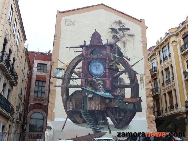Un viaje por la Zamora de los graffitis