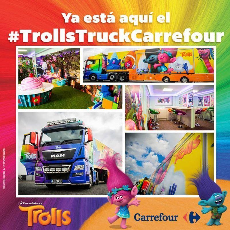 Trolls en el ccvalderaduey una gira de carrefour para for Para todos los publicos