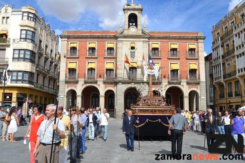 Zamora celebra la Exaltación de la Cruz