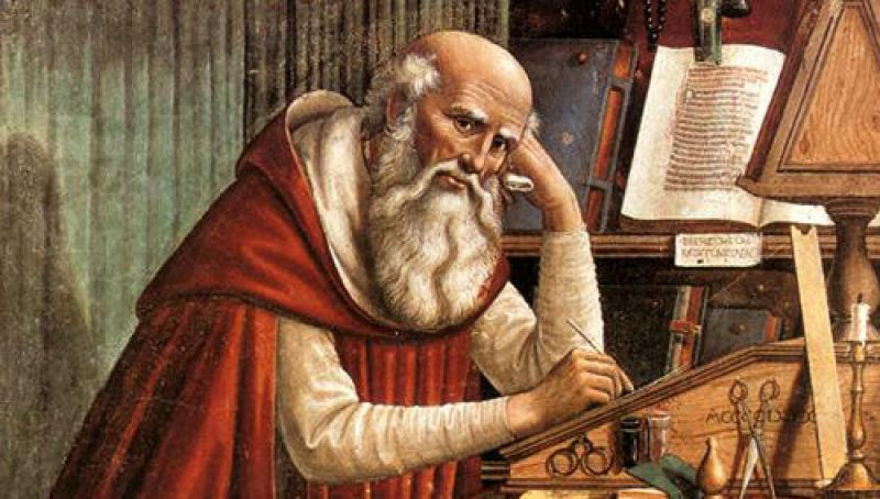 San Jerónimo, uno de los padres de la iglesia