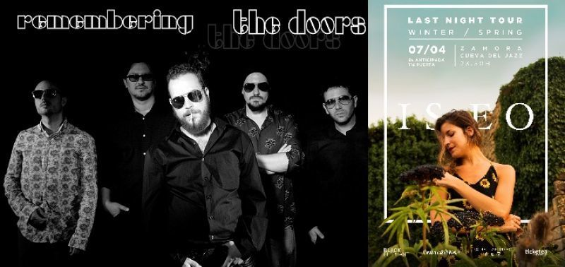 La Cueva del Jazz inicia la Semana Santa con ISEO y Remembering The Doors