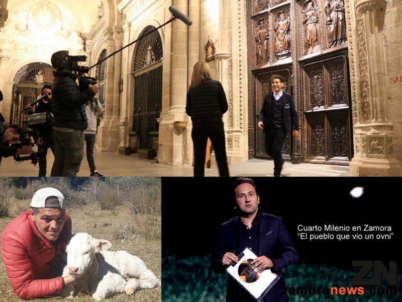 La Bien Cercada en la 2 con Miguel de Lucas, en DMAX el Lobo en Zamora