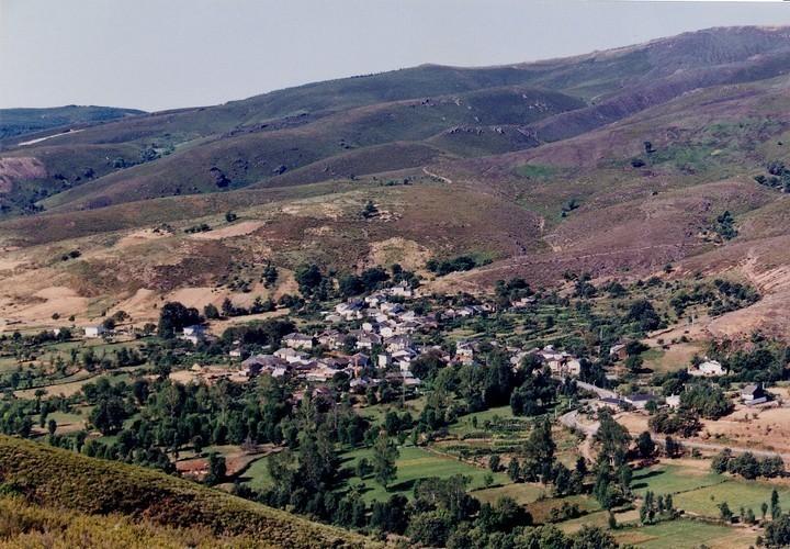 Vista aérea de Calabor.