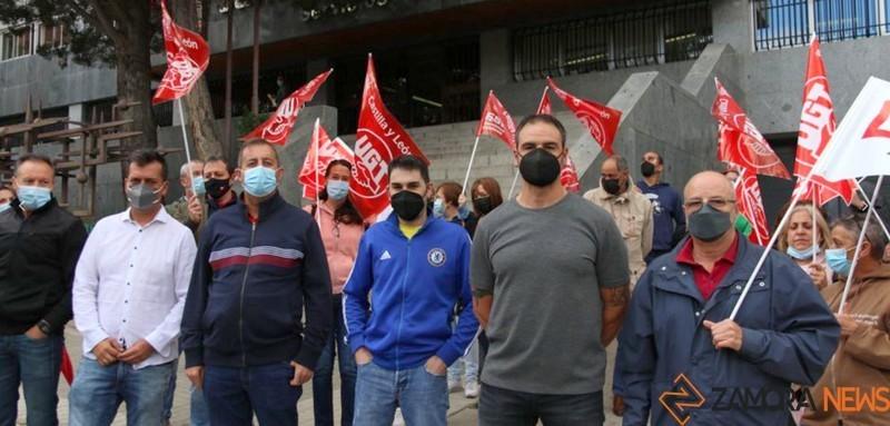 Protestas de los vigilantes de Seguridad
